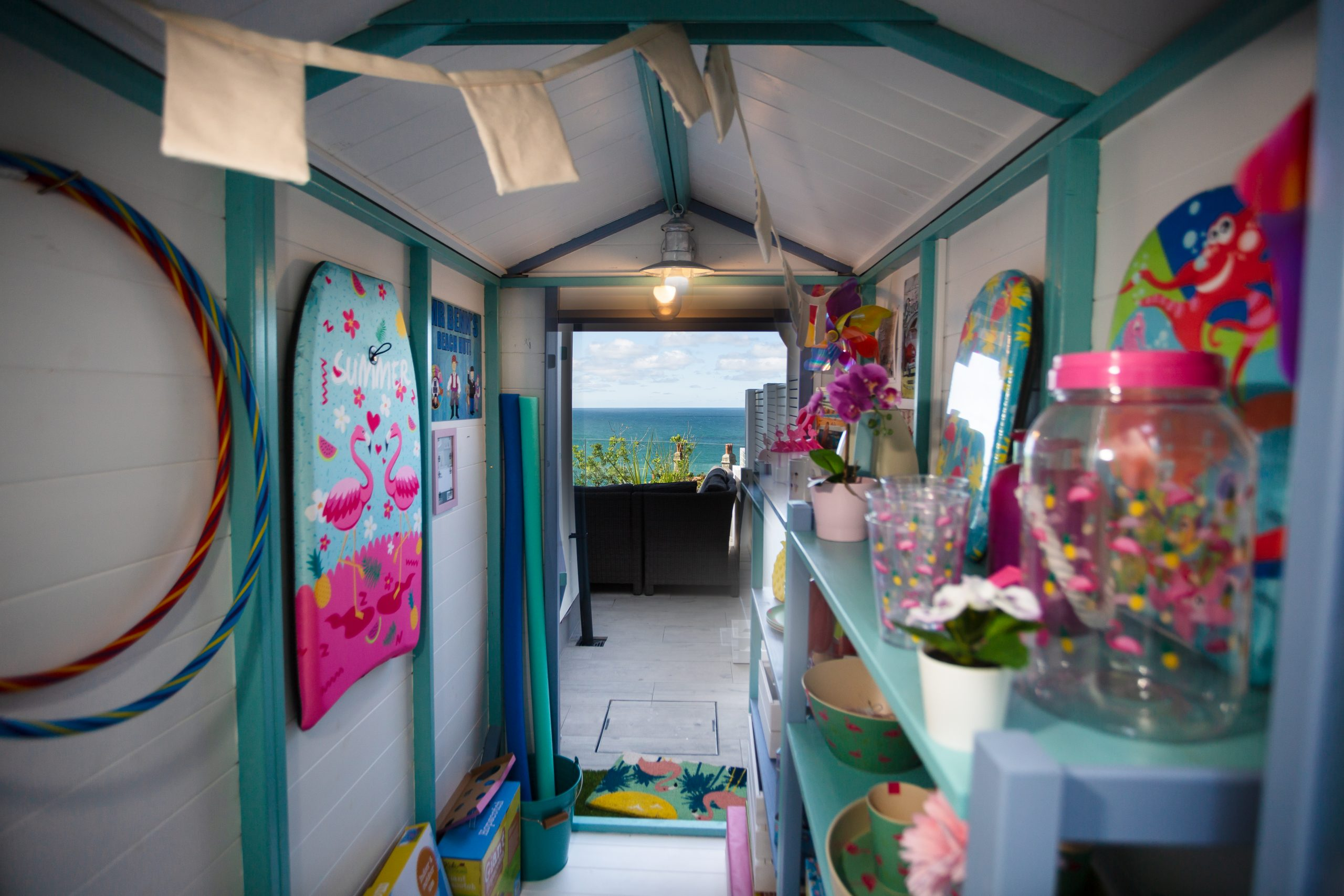 Mr Benn's Beach Hut