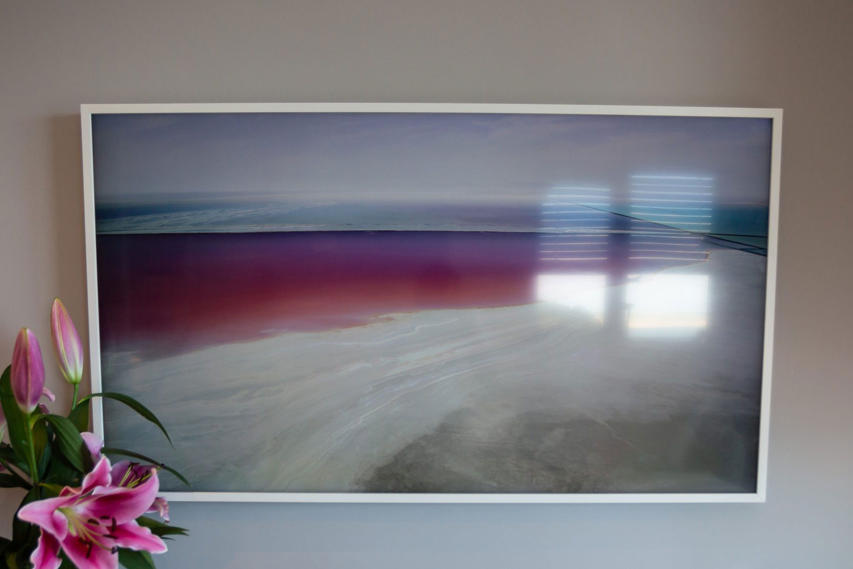 50 inch Samsung Frame Smart TV
